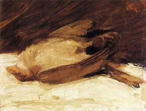 High quality Oil painting Canvas Reproductions The Dead Sparrow 1905  By Franz Marc  hand painted - Smoulder Products