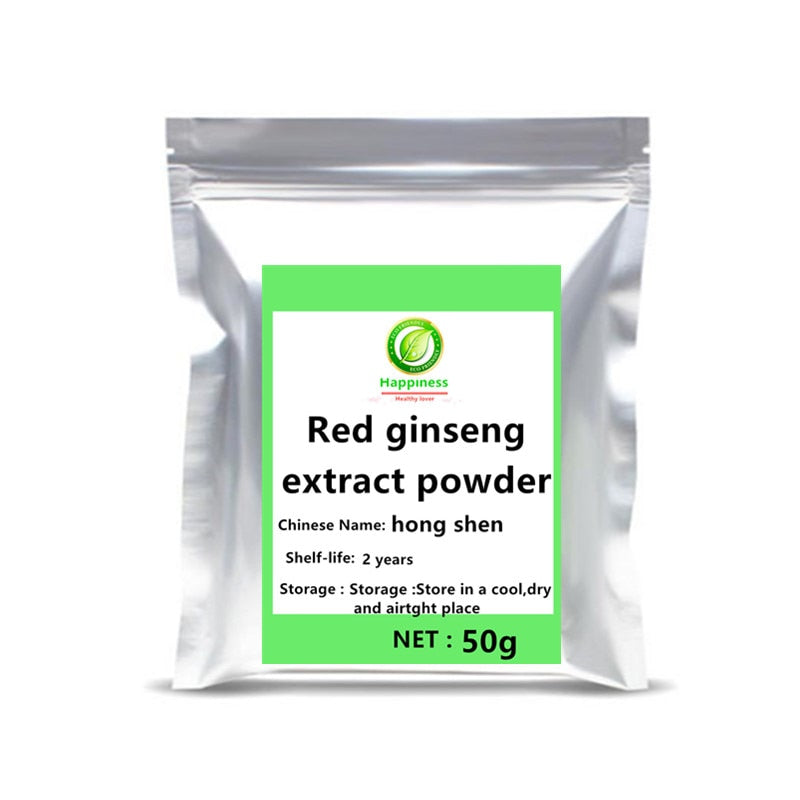 Hot sale 10 Years Korean Red Ginseng Root Extract Ginsenosides Powder  festival supplement body anti-aging ginseng tea capsules. - Smoulder Products