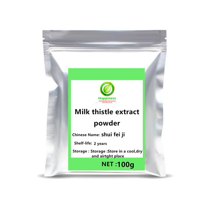 Hot sale Milk Thistle Extract 80% Silymarin Powder 1pc festival top Health supplement shui fei ji  Protect Liver free shipping. - Smoulder Products