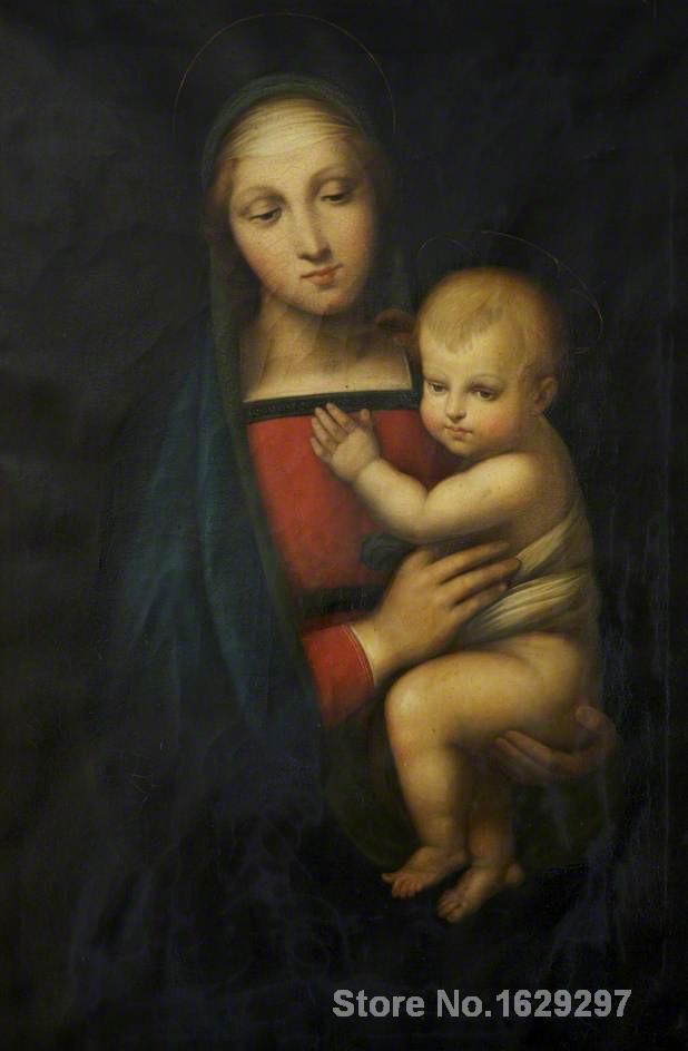 Madonna del Granduca Raphael sanzio reproduction art High quality Handpainted - Smoulder Products
