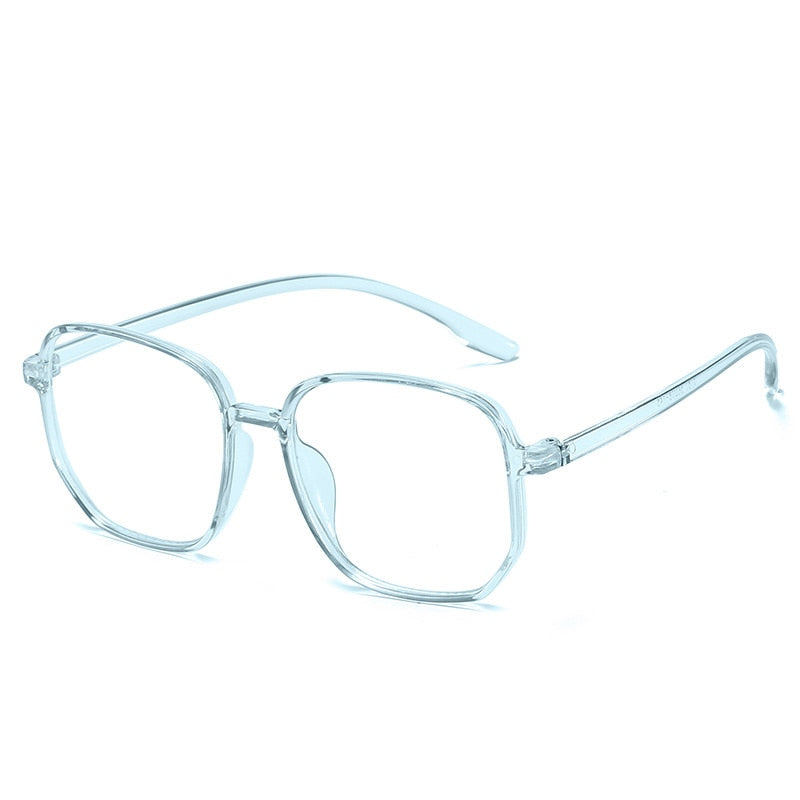 New Polygon Anti-blue Light Glasses Frame Women Men Clear Spectacles Vintage Block Blue-ray Eyewears 2020 Eyeglasses Frames - Smoulder Products