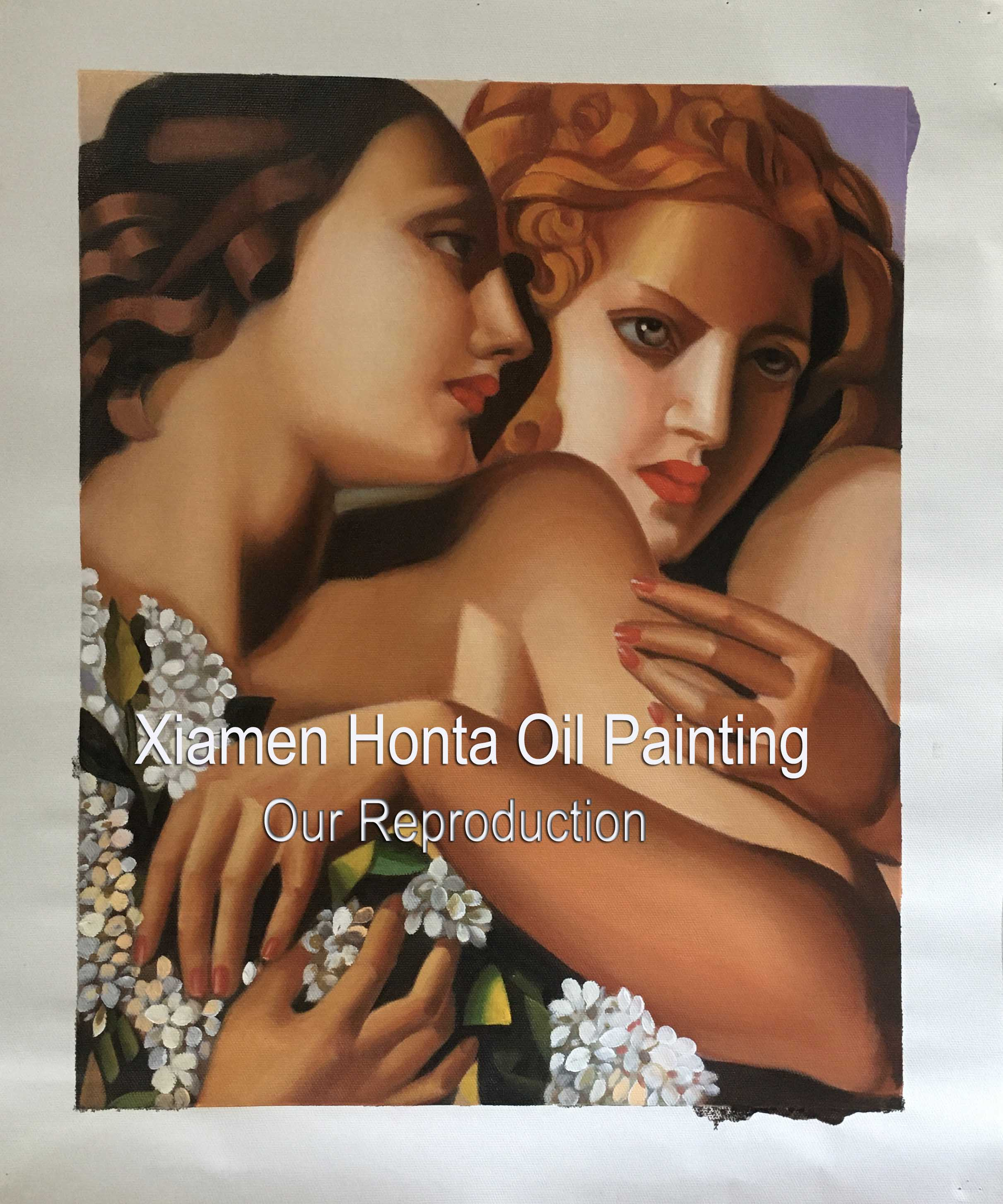 Oil Painting Reproduction on Canvas ,Museum Quality,Fast Free Shiping, handmade - Smoulder Products