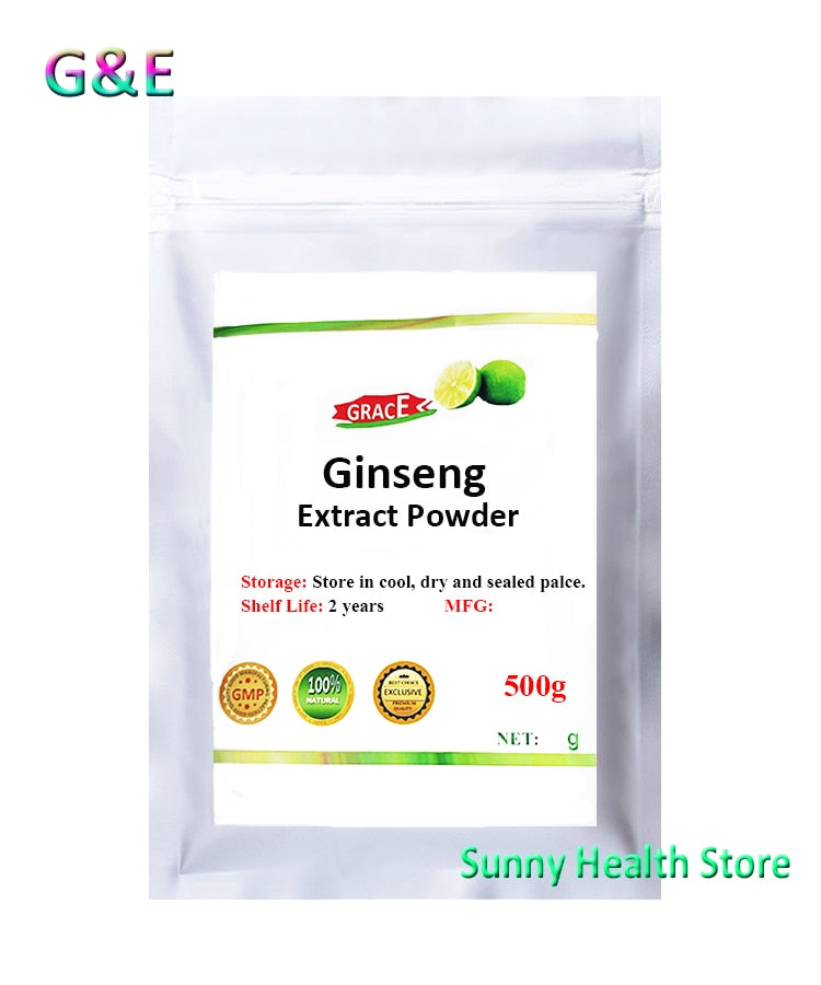 Pure  Natural  Ginseng Root Extract Powder, Ren Shen, Panaxóside, High Quality Supplement,for Health,Free Shipping - Smoulder Products