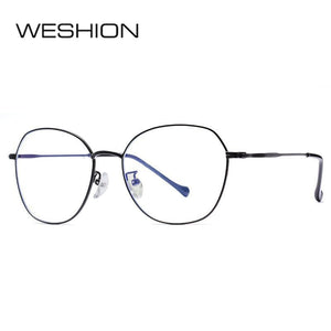 Retro Blue Light Glasses Women Men Block Optical Frame Boy Girls Luxury Brand Ladies 2018 Alloy Reading Anti Reflective UV400 - Smoulder Products