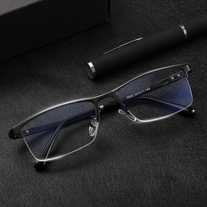 Prescription Grade Glasses Men women student custom diopter anti blue light block radiation ray computer gaming glasses myopia eyewear - Smoulder Products