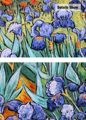 Van Gogh Irises Painting Reproductions Flower Handmade Oil Painting Wall Pictures For Living Room Home Decoraction Art Unframed - Smoulder Products