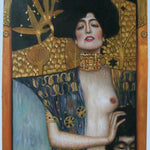 Judith I 1901 Gustav Klimt Handmade Oil Painting Reproduction - Smoulder Products