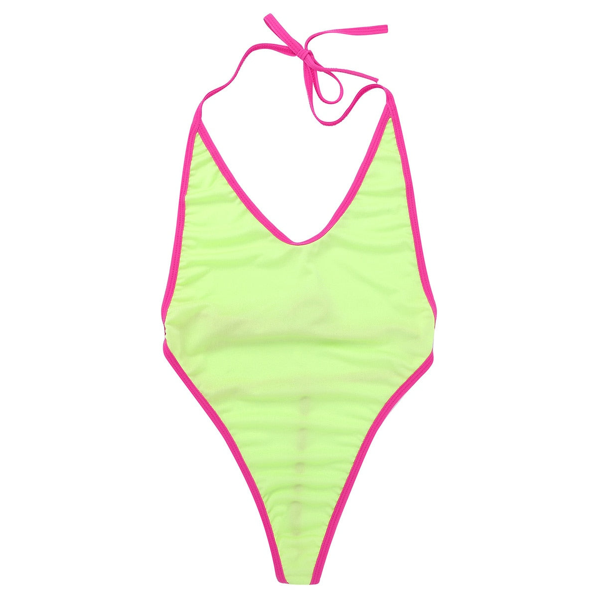 Women's Micro Monokini Swimsuit Bikini G-string Thong Swimwear One-piece Swimming Suit High Cut Mini Bikini Summer Beachwear - Smoulder Products