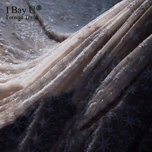 Champagne Luxury Wedding Dress 2020 Off Shoulder Cystal Lace Ruffle Ball Gown Wedding Bling Bridal Gowns Vestidos De Noivas - Smoulder Products