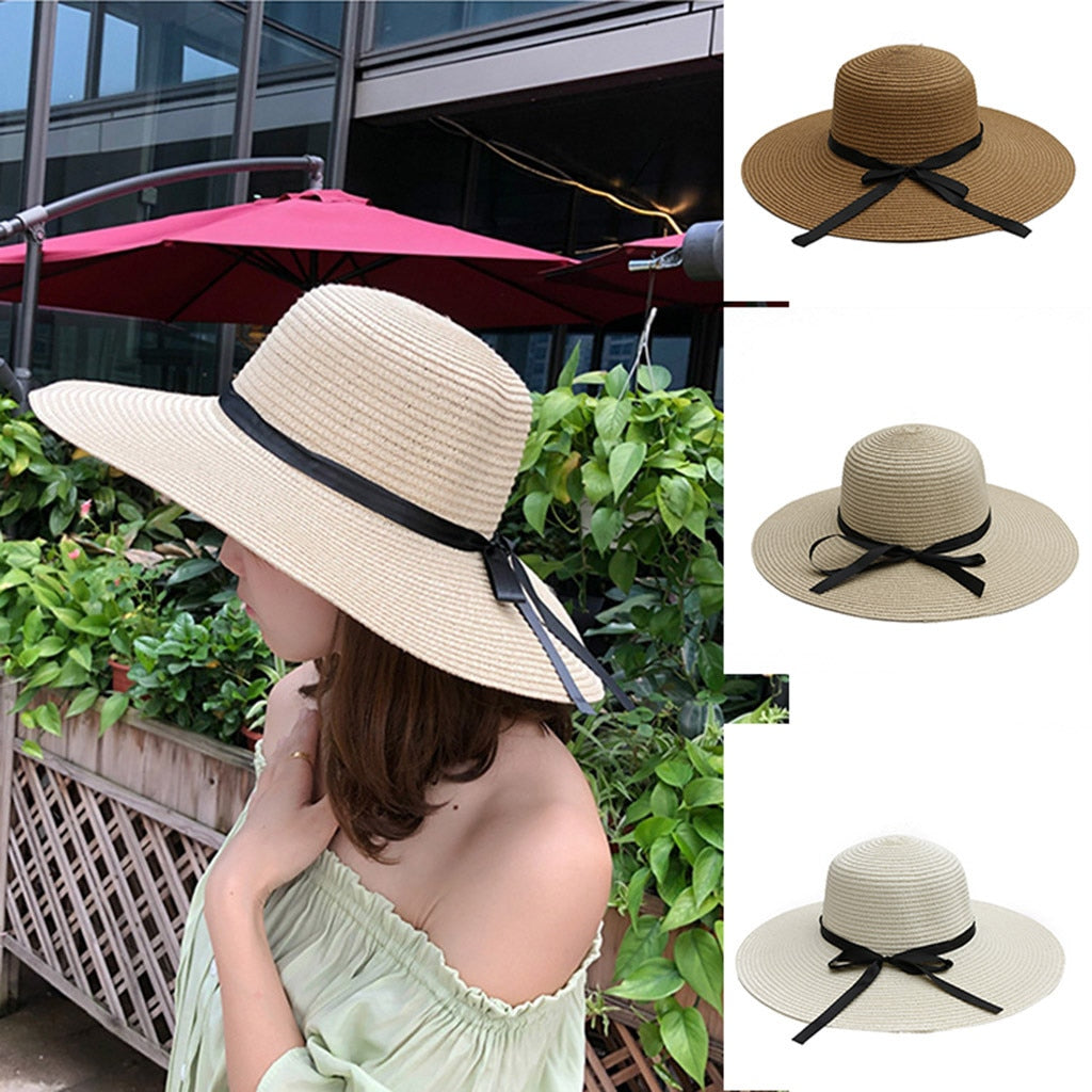 Hat with UV Protection Straw Hat Sombrero UV Rays Packable & Stylish Wide Brim Summer Hats Chapeu - Smoulder Products