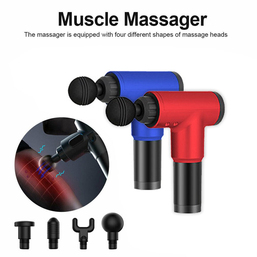 Physiotherapy Muscle Massage Gun Health Massage Deep Relaxation Device High Frequency Vibration Impact Fascia Gun - Smoulder Products