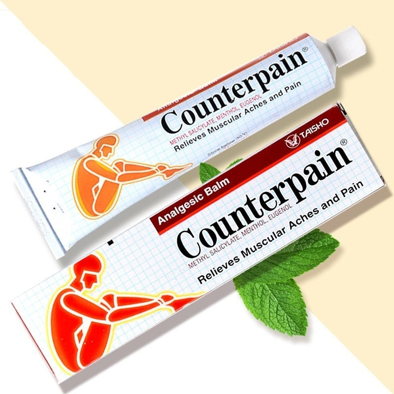 1PCS Thailand Counterpain Cool Analgesic Ointment Relieves Joint Arthritis Pain Muscle Ache Sports Injury Sprain Massage Cream - Smoulder Products