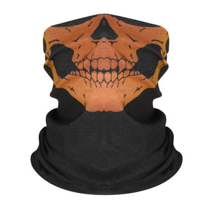 Halloween Scary Mask Festival Skull Masks Skeleton Outdoor Motorcycle Bicycle Multi Colors Scarf Half Face Mask Cap Neck Ghost - Smoulder Products