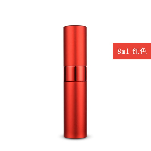 8ml10ml15ml20ml metal aluminum perfume bottle cosmetic spray bottle portable empty bottle travel sub-bottle liner glass - Smoulder Products