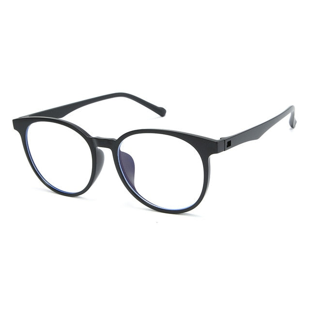 DENISA Blue Light Blocking Glasses Super Light TR90 Frame Eyeglasses Anti Blue Light Lens Computer Glasses Spectacles Frame S813 - Smoulder Products