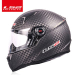Original LS2 FF396 carbon fiber motorcycle helmet LS2 CT2 full face helmets casco casque moto no pump - Smoulder Products