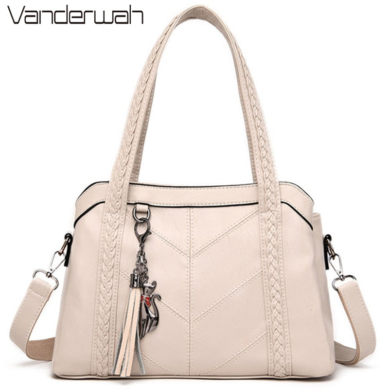 3 Main Bag Leather Luxury Handbags Women Bags Designer Handbags Quality Ladies Shoulder Crossbody Hand Bags For Women 2020 Sac - Smoulder Products
