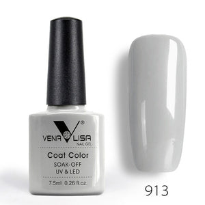 Venalisa Fashion Shiny 7.5 ML Soak Off UV Gel Nail Gel Polish Cosmetics Nail Art Manicure Nails Gel Polish Tips Nail Varnish L1 - Smoulder Products