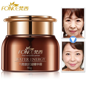 Fonce Korea Anti Aging Wrinkle Remover Face Cream Dry Skin Hydrating Facial Lifting Firming Day Night Cream Peptide Serum 50g - Smoulder Products