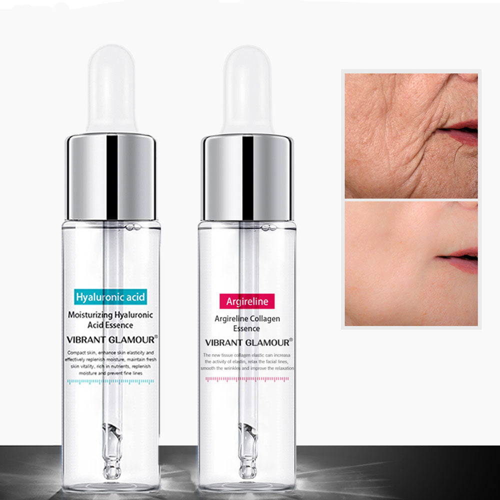 Facial Anti-Aging Wrinkle Hydrating Essence Hyaluronic Collagen Peptides Acid Face Lift Firming Whitening Moisturizing Skin Care - Smoulder Products