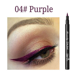 1 Pc Long-lasting Eye Liner Pencil Blue Waterproof Fashion Women Quick-dry Colorful Eyeliner Pen Cosmetics Beauty Makeup Tools - Smoulder Products