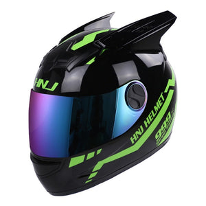 NITRINOS Women Motorcycle Helmet Moto Helmet Full Face Helmet Motorbike Scooter Riding Racing Protector Casco Moto 24 Colour - Smoulder Products