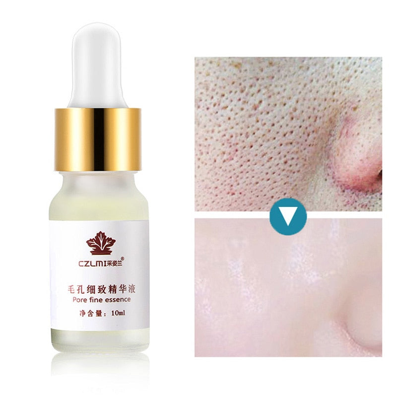10ML Hyaluronic Acid Pores Shrinking Face Serum Moisturizing Whitening Essence Face Cream Anti-Aging Dry Skin Care - Smoulder Products