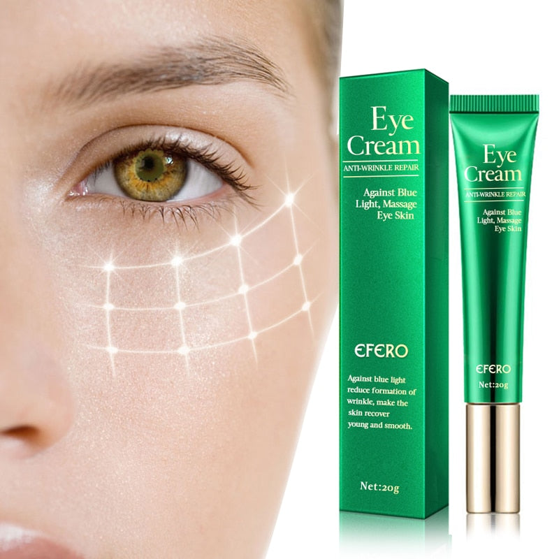 EFERO Anti-Wrinkle Eye Cream Against Blue Light Remove Dark Circles Lightening Eye Cream for Eyes Care Anti-aging Eye Creams - Smoulder Products