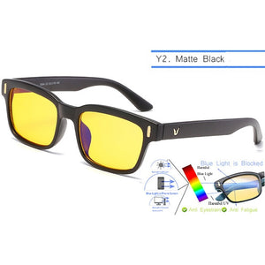 IVSTA Blue Light Glasses Computer Spectacle Frame Gaming Glasses Men Anti Blue Rays Blocking Prescription Myopia Nerd Optical - Smoulder Products