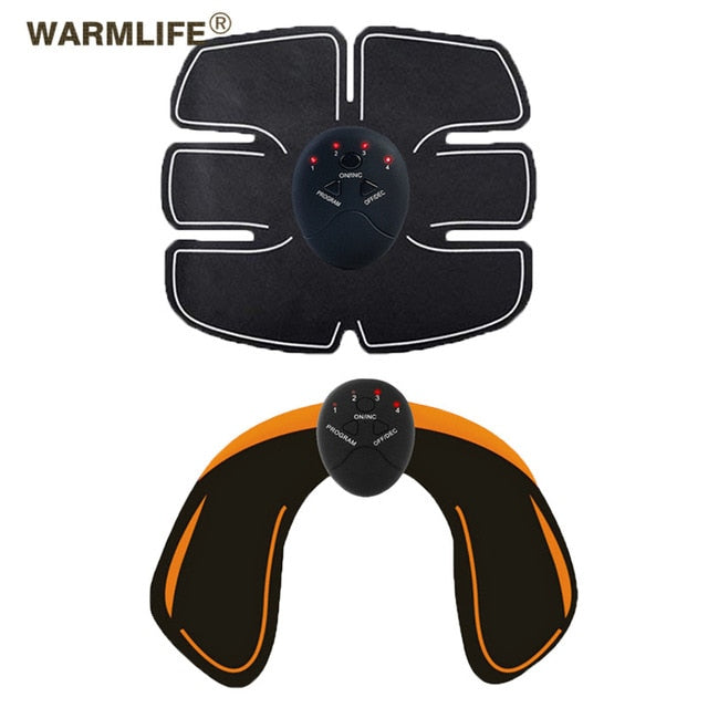 EMS Wireless Muscle Stimulator Smart Fitness Abdominal Training Electric Weight Loss Stickers Body Slimming Belt Unisex - Smoulder Products