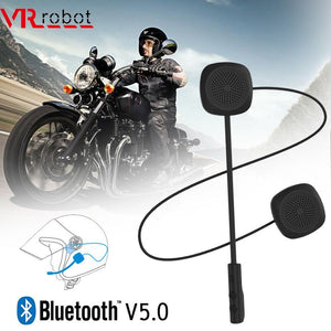 VR robot Bluetooth 5.0 Moto Helmet Headset Wireless Handsfree Stereo Earphone Motorcycle Helmet Headphones MP3 Speaker - Smoulder Products