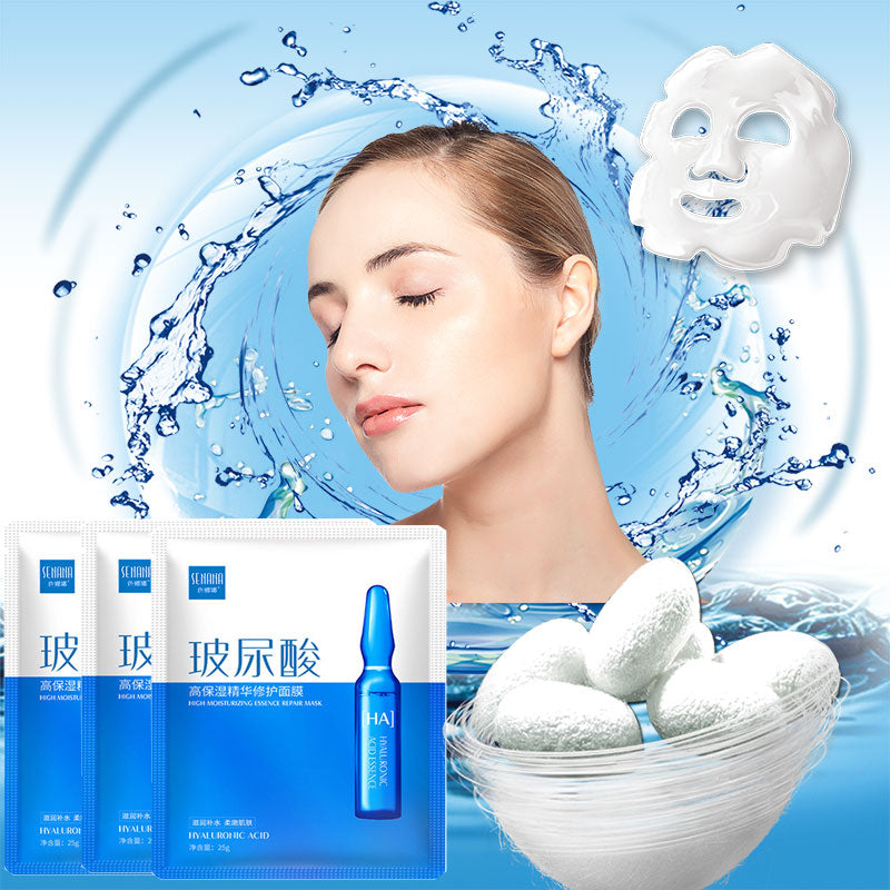 Hyaluronic Acid face sheet Mask collagen whitening korean beauty Facial moisturizing Skin Care mascara masker maske facemask - Smoulder Products