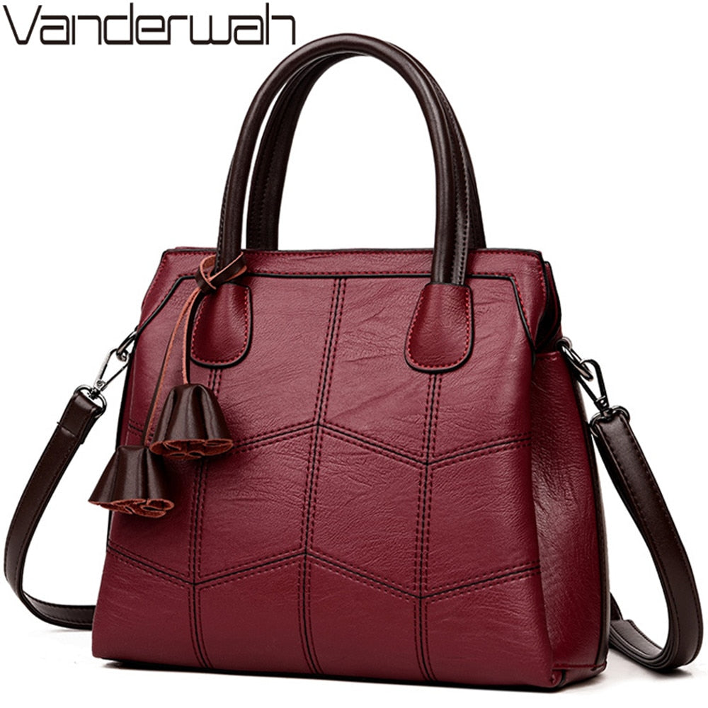 Sac A Main Genuine Leather Luxury Handbags Women Bags Designer Hand bags Women Shoulder Crossbody Messenger Bag 2019 Casual Tote - Smoulder Products