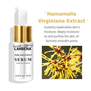LANBENA Hyaluronic Acid Serum Blackhead Removing Moisturizing Acne Treatment Skin Care Repair Whitening Anti-Aging Winkles 15ml - Smoulder Products