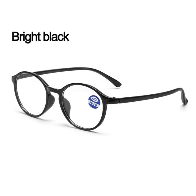 1Pcs Fashion Unisex Portable Optical Glasses Ultra Light Resin Blue Light Blocking Glasses Flexible Vision Care Computer Glasses - Smoulder Products