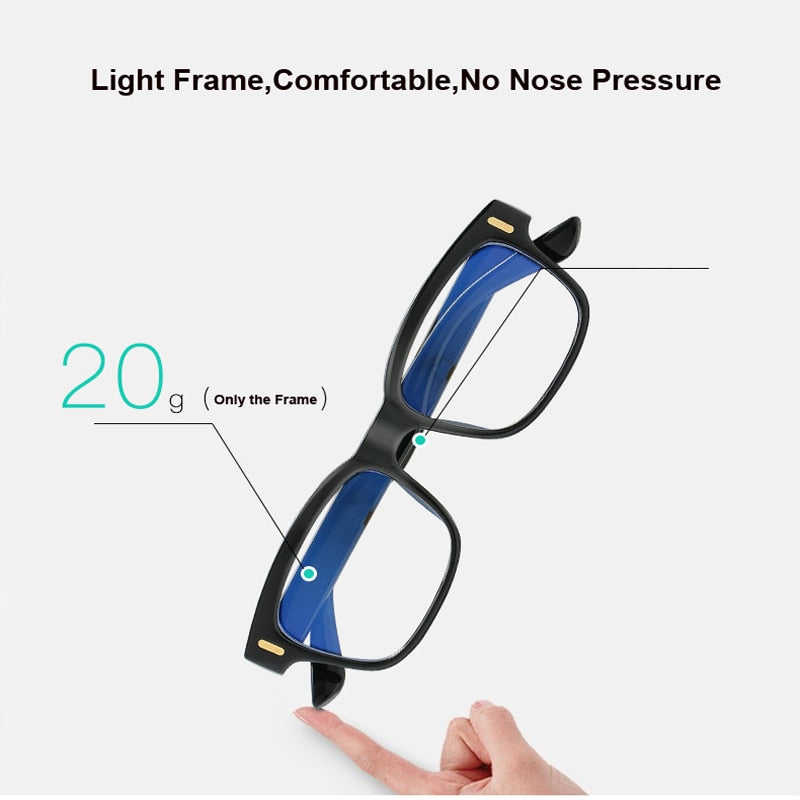 Blue Ray Computer Glasses Unisex Screen Radiation Eyewear Brand Design Office Gaming Blue Light Eye Glasses UV Blocking Eye Spectacles - Smoulder Products