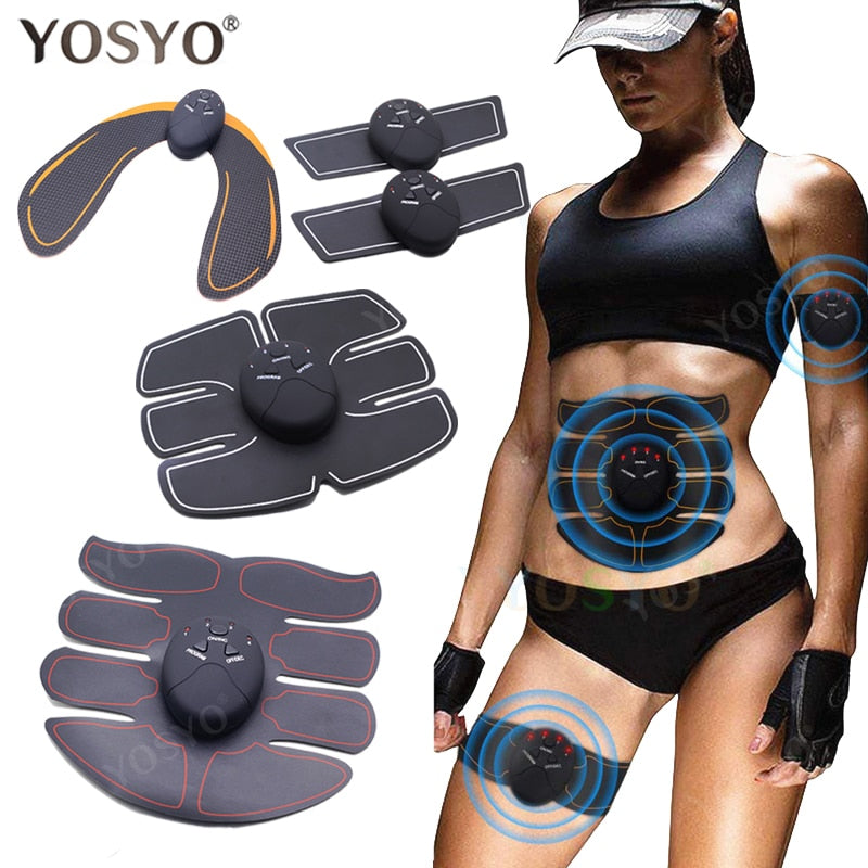 EMS Muscle Stimulator Trainer Smart Fitness Abdominal Training Electric Body Weight Loss Slimming Device WITHOUT RETAIL BOX - Smoulder Products