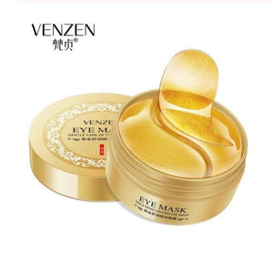 black pearl Collagen eye mask anti wrinkle sleeping eye patch dark circles eye bags remover gold gel mask Eye care 60PCS - Smoulder Products