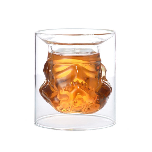 Whiskey Decanter Crystal Glass Wine Decanter Bottle Magic Aerator Wine Glasses Accessories  Star Wars Stormtrooper Helmet - Smoulder Products