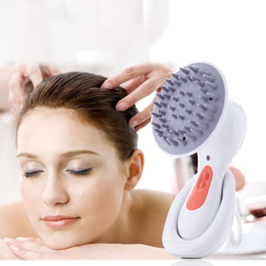 Electric Vibration Head Scalp Massager Brain Relax Shiatsu Headache Stress Relieve Acupuncture Relaxation Massage Stress Relief - Smoulder Products