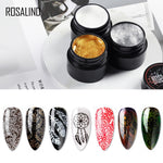 ROSALIND Gel Nail Polish Nail Art Stamping Gel Print For Manicure Nails 5ml Colors UV Decoration Stamping Gel Plate Varnish - Smoulder Products