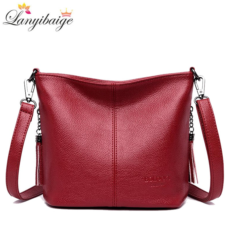 Ladies Hand Crossbody Bags For Women 2020 Luxury Handbags Women Leather Shoulder Bag Tote Bag Designer Women bolsa feminina - Smoulder Products
