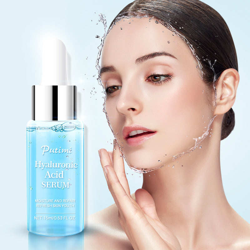 Hyaluronic Acid Moisturizing Face Cream Essence Anti-Aging Wrinkle Shrink Pores Acne Treatment Collagen Serum Whitening for Face - Smoulder Products