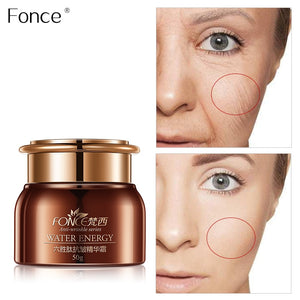 Fonce Six peptide Anti Wrinkle Face Cream 50g Anti Aging Dry Skin Hydrating Facial Lifting Firming Peptide Serum Day Night Cream - Smoulder Products