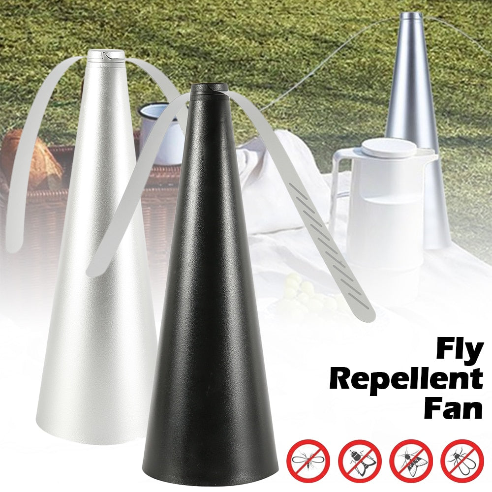 Fly Repellent Fan Pest Reject Anti Mosquito Zapper Insect Trap Repllent Insect Keep Flies Bugs Away From Your Food Enjoy Meal - Smoulder Products