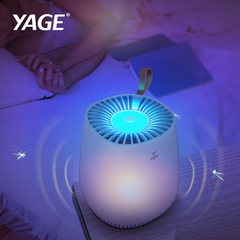 YAGE USB Mosquito Killer Lamp Trap LED Insect Trap UV Killing Lamp Anti Mosquito Housefly Flying Trap Bug Zapper Repellent Light - Smoulder Products