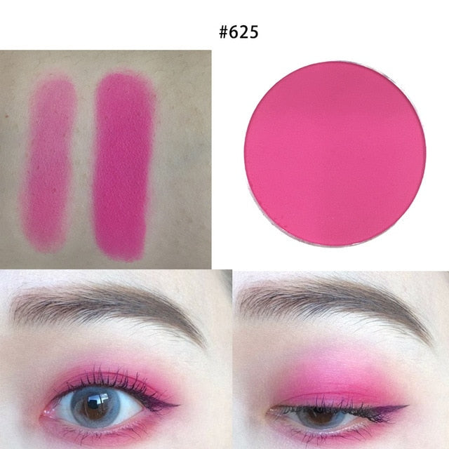 Red&Black DIY Charming INS Red Eyeshadow Glitter Pigment Waterproof Pink Matte Eyeshadow Beauty Make Up Cosmetic Pallete - Smoulder Products