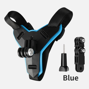 Motorcycle Helmet Chin Stand Mount Holder for GoPro Hero 8 7 6 5 4 3 Xiaomi Yi Action Sports Camera Full Face Holder Accessory - Smoulder Products