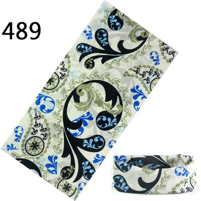 401-500 New Arrival Skull Bandana Tubular Versatility Motorcycle Scarf Headband Seamless Magic Scarf Sunscreen Muffler Head Wrap - Smoulder Products