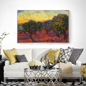 Olive Grove Van Gogh Oil Painting Reproductions Abstract Oil Painting Handmade Wall Pictures For Living Room Hand Painting Art - Smoulder Products